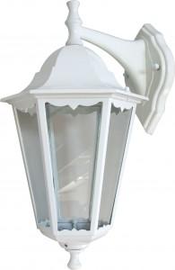 6202, светильник садово-парковый, 100W 230V Е27 белый