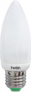 ELC73, лампа энергосберегающая, 11W 230V E27 4000K свеча