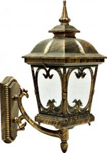 PL135, светильник садово-парковый, 100W 230V E27 черное золото