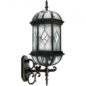 PL130, светильник садово-парковый, 60W 230V E27 черное золото