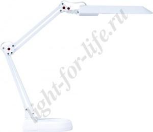 DE1115, светильник настольный, ESТ 11W 230V G23 белый с лампой