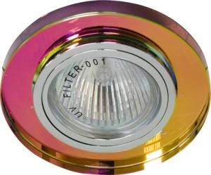 8060-2, светильник потолочный, MR16 G5.3 5-мультиколор, серебро