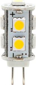 LB-402, лампа светодиодная, 9LED(2W) 12V G4 2700K