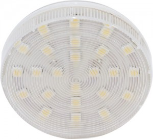 LB-153, лампа светодиодная для натяжных потолков, 24LED(5W) 230V GX53 6400K