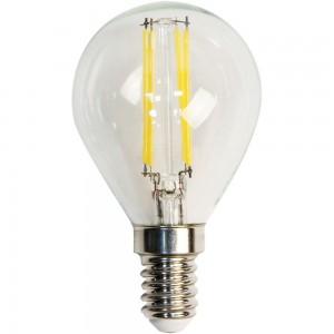 LB-61, 6400К Е14 4LED(5W) 230V филамент G45, лампа светодиодная