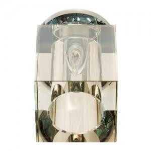 JD152, светильник потолочный, JCD9 50W G9, желтый, хром