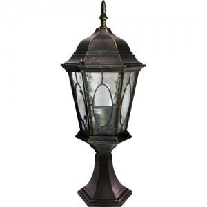PL154, светильник садово-парковый, 60W 230V E27 черное золото