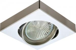 DL163, светильник потолочный, MR16 50W G5.3 алюминий