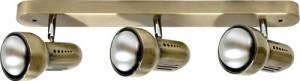 Светильник настенный, 3xR50 Е14 античное золото, RAD50-3