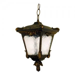 8003S, светильник садово-парковый, 60W 230V E27 черное золото