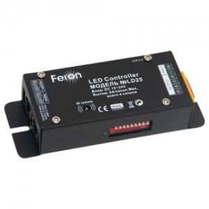 LD25 Контроллер для светодиодной ленты LS610 DC12V, IP20