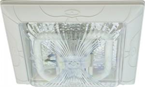 DL43, светильник накладной с энергосберегающей лампой 21W белый