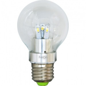 LB-42, лампа светодиодная, 10LED(5W) 230V E27 2700K тип A60