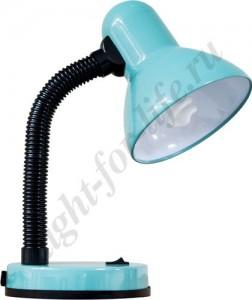 DE1415, настольная лампа, ESB 9W 230V E27 зеленый с лампой