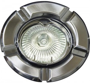 098Т-MR16, светильник потолочный,  титан-хром