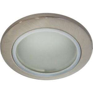 DL202, светильник потолочный, MR16 G5.3 с матовым стеклом, титан