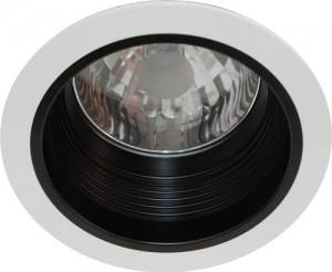 AL109, светильник потолочный с алюминиевым отражателем, MHB G12 белый, без пускателя