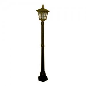 4137S, светильник садово-парковый, 60W 230V E27 черное золото
