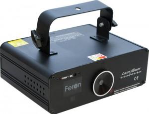F04, проектор для лазерного шоу, 20W красный-зеленый (точки,палочки) 220V