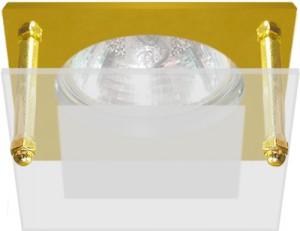 BS3159-P2-8, светильник потолочный, MR16 G5.3 золото