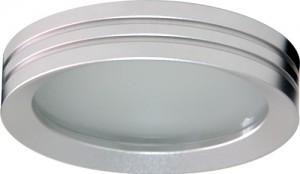 DL210, светильник потолочный, MR16 G5.3 с матовым стеклом, алюминий