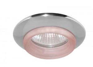 730С-W, светильник потолочный, MR16 G5.3 хром красный