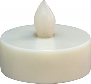 """FL075, светодиодная свеча """"таблетка"""", белый"""