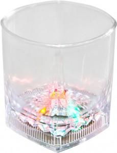 FL103, стакан со светодиодной подсветкой (прозрачный пищевой пластик)