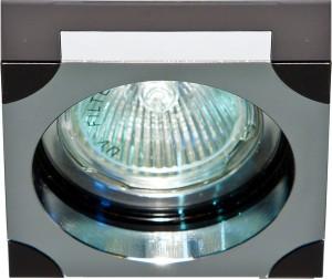 DL192, светильник потолочный,  MR16 G5.3 черный и хром