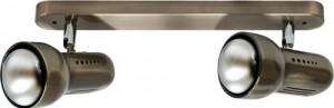 Светильник настенный, 2xR50 Е14 античное золото, RAD50-2