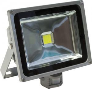 LL-232, прожектор светодиодный  c датчиком движения, 1LED/30W-белый 230V