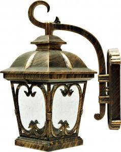 PL139, светильник садово-парковый, 100W 230V E27 черное золото
