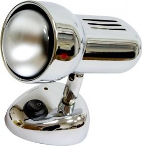 Светильник настенный, 1xR63 Е27 с выключателем, хром, RAD63S-S