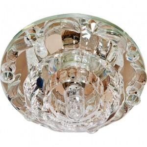 1580, светильник потолочный встраиваемый, JCD9 Max35W G9 прозрачный-прозрачный