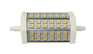 LB-118, лампа светодиодная для прожекторов, 36LED(8W) 230V R7s 6400K