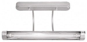 TL2201, светильник настенный, 8W 230V T4 с лампой, серебро