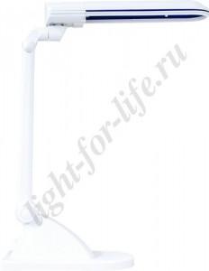 DE1110, светильник настольный, ESТ 11W 230V G23 белый с лампой