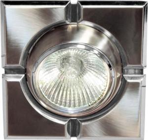 098T-MR16-S, светильник потолочный,  титан-хром