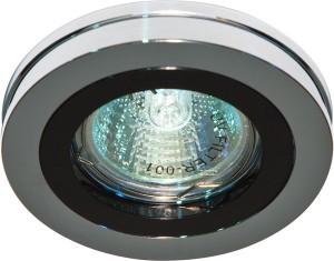 DL212, светильник потолочный,  MR16 G5.3 черный, хром