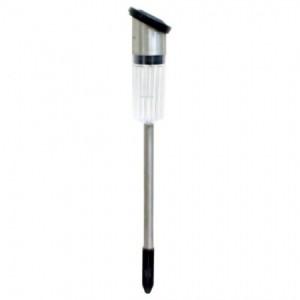 ST-701S, светильник газонный, 1*LED 68*64*459мм стальной