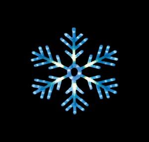 """LT035 Светодиодная фигура """"снежинка"""""""