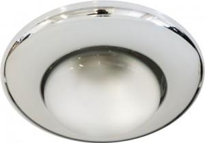2767, светильник потолочный,  R63 75W 230V Е27, хром