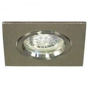 DL273, светильник потолочный,  MR16 G5.3 алюминий, хром