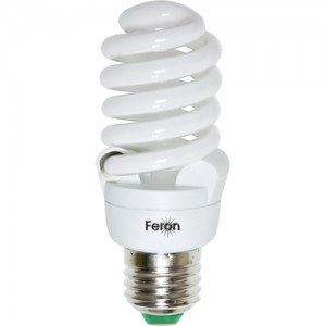 ELT29, лампа энергосберегающая, 20W 230V Е27 4000K спираль