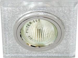 8170-2, светильник потолочный, MR16 G5.3 мерцающее серебро, серебро