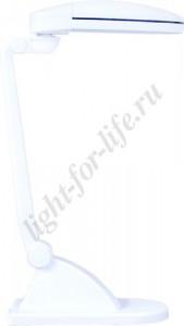 DE1130, светильник настольный, ESТ 2*9W 230V G23 белый с лампами