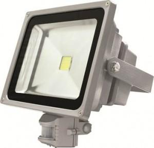 LL-233, светодиодный прожектор с датчиком, 1LED/50W-белый 230V