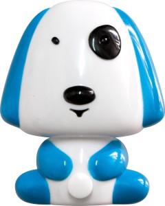 "FN1165, светильник-ночник ""собачка"",  4 LED 1W 230V синий"