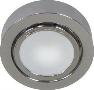 А012N, светильник мебельный, JC G4.0 хром, с лампой