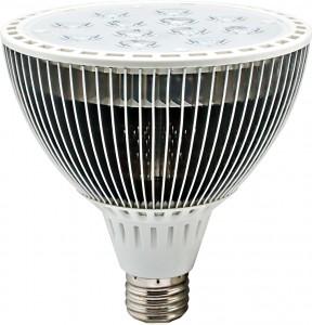LB-602, лампа светодиодная,  12LED(12W) 230V E27 4000K PAR
